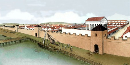 Der Hafen der Colonia.