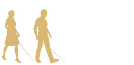 Visually impaired person logo